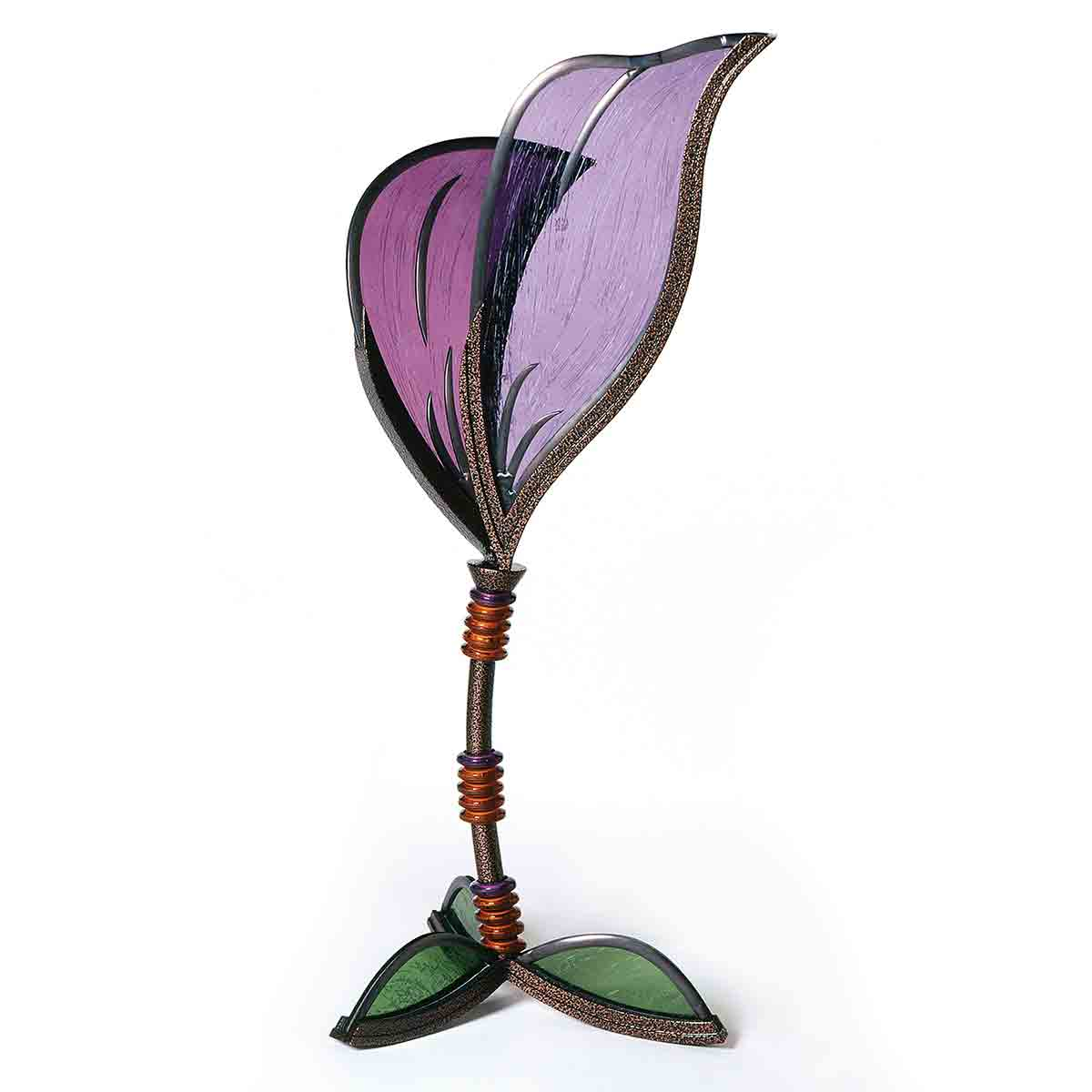 Glass Sculpture Lily Nancy Gong