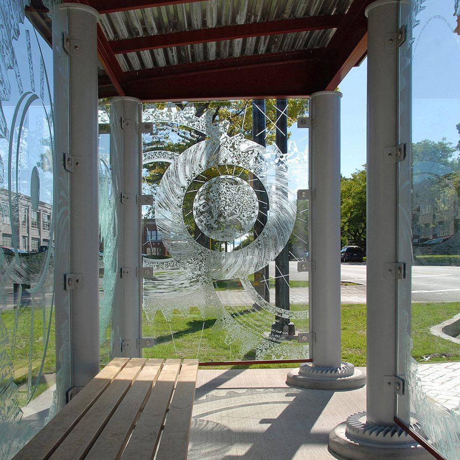 Engineers Have Fun Too! ARTWalk of Rochester Nancy Gong Glass Art Works