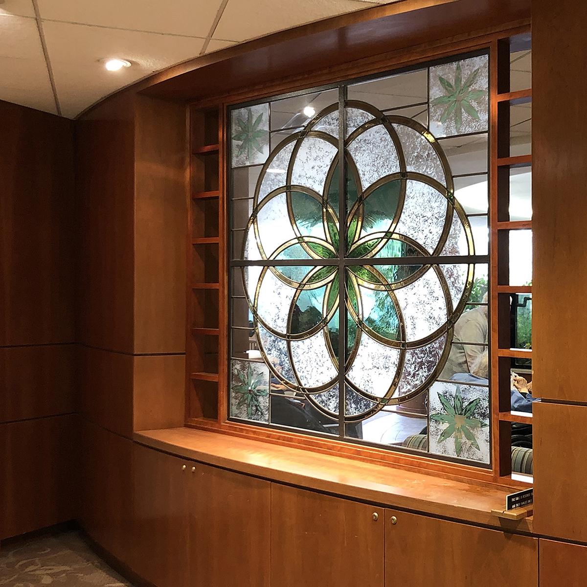 St. Ann's Community Glass Art Nancy Gong