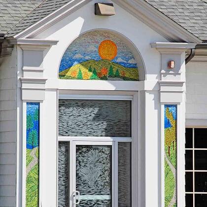 The Hillside Journey Nancy Gong Glass Works